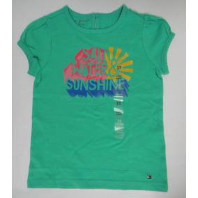 537298d634 Tommy Hilfiger Camiseta Infantil Tamanho 2 Anos