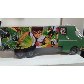 Caminhão Truck De Madeira Do Bem 10, 47cm X, 16 X 11.5