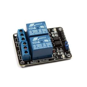 Módulo Relé 2 Canais 5v Para Arduino Raspberry Pic Automação