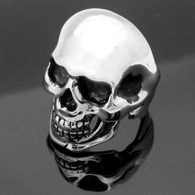Anillo Cráneo Calavera Plata De Ley .925 Celta Choper Rock