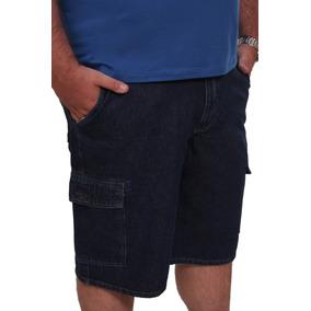 Bermuda Jeans Masculina Plus Size Até Nº 68 Tamanho Grande