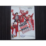 High School Musical 3 Dance Nintendo Wii Y Wii U