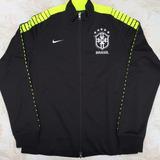 667019-010 Jaqueta Nike N98 Cbf Brasil G Preta Fn1608 d43f769a99658