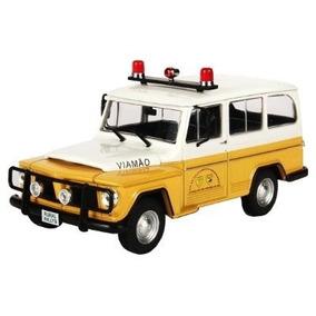 Rural Willys Viatura Policia Rodoviaria -veiculos De Serviço