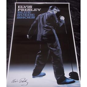 Elvis Presley Poster Gigante Blue Suede Shoes Tam. 61x91 Cm
