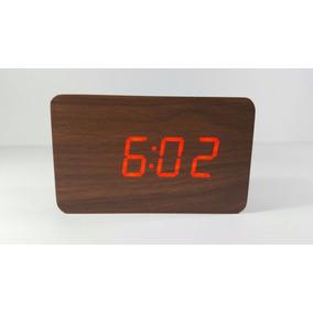 216ce737337 Relogio Alarme Digital Madeira - Relógios no Mercado Livre Brasil