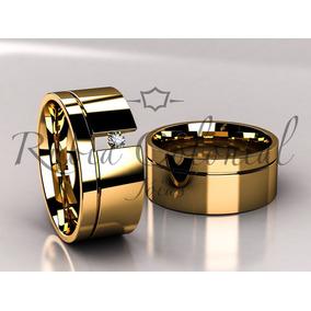 cff1c2e6241 Alianca Ouro Diamante Flutuante - Alianças de Casamento de Ouro no ...