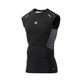 209b9f3258 Camisa Regata Térmica Preta adidas Tam G · R  120