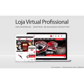 Loja Virtual Responsiva Profissional E-commerce Completo