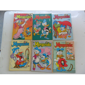 Margarida! Várias! Edit. Abril! 1986-1991! R$ 15,00 Cada!