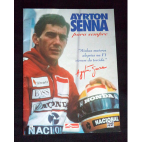 Ayrton Senna Formula 1 Corrida Revista
