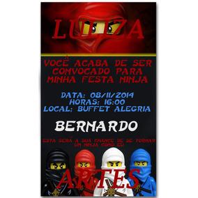 Lego Ninjago 70506 Convites No Mercado Livre Brasil
