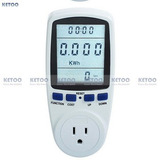 Wattímetro Medidor De Energia Voltagem, Watt, Gasto 110v