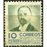 1520 Arqitectura Madero 2° E Mex-mex Hz 10peso Mint N G 1956