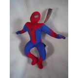 Spiderman Con Su Traje Original De 30 Cms Nuevo