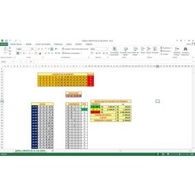 Loterias Planilhas Automatizadas (quina,lotofácil)