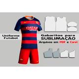 cca621f0ef Sublimação Uniformes Futebol - Camisetas E Calções Vetores