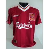 e962ff80fb Camisa Adidas Liverpool De Algodão Tamanho G Importada - Camisa ...