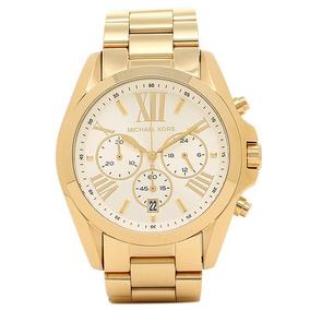 ebef6632d01 Relogio Michael Kors Branco Cronografo Oversized Mk 5379 - Relógios ...