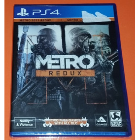 Metro Redux Ps4 En Stock Playstation 4 Ps4 Juegos En Mercado