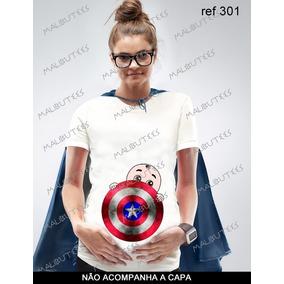 Camisetas Para Gravida De Super Heroi - Camisetas e Blusas no ... 912333dd83965