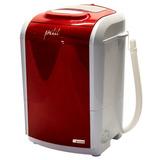 Mini Lavadora De Roupas Petit Vermelha 220v