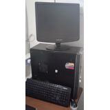 Envío Incluido. Computador Escritorio Dualcore Monitor 17.