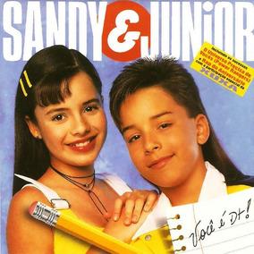 Cd Lacrado Sandy & Junior Voce É D+ 1995