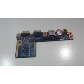 Placa Áudio + Usb + Hdmi + Vga Jm41 Acer Aspire 4810t 4810tz