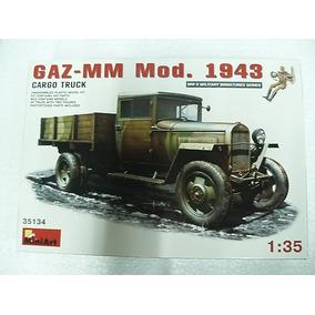 Militaria Miniart P/armar Gaz Mm Mod 1943 1/35 Kit 35134