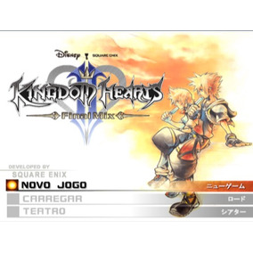 Jogo Patch Ps2 Kingdom Heart 2 Final Mix + Em Português