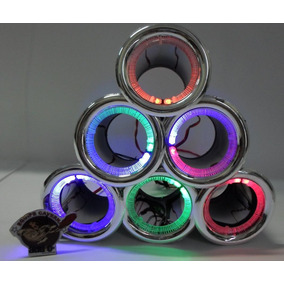 Duto 4 - Metalizado Cromado Caixas Led - Som Automotivo