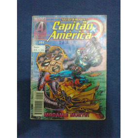 Capitão América 201 Editora Abril Fevereiro 1996 Formatinho