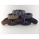 3 Braceletes Pulseiras Tático Sobrevivência Paracord 550