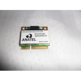 Placa Wi-fi Do Notebook Cce E25l+ Rtl8191se