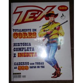 Gibi Tex Nº 500 + Uma Saga Em 500 Capas - Mythos Editora