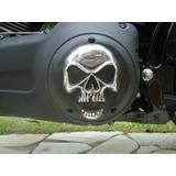 Tampa Harley Primária Derby Cover Fat Boy /dyna 1450/1600cc