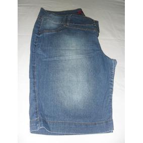Bermuda Jeans Azul - Tam. 52 - Strech