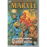 Grandes Herois Marvel 04 2ª Serie Abril Bonellihq Cx443 H18