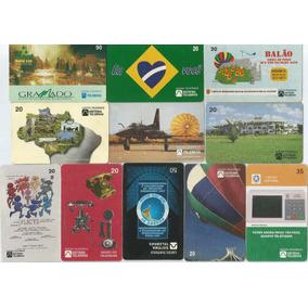 Lote 11 Cartões Telefônicos Telebrás - Diversos - A6