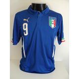 Camisa Italia Balotelli - Futebol no Mercado Livre Brasil c7fcd3a46a9c6