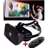 Oculos Realidade Virtual Vr Google Cardboard 3d Games Filmes