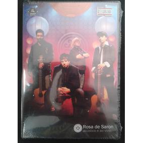 dvd rosa de saron acustico e ao vivo