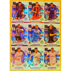 Cards Champions League 2014/15 Todos 9 Game Changers Messi++