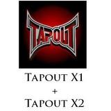 Tapout Xt+xt2, 25 Dvds A $15.990.-