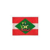 Bordado Termocolante Bandeira De Santa Catarina