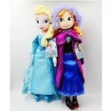 Peluche Frozen Elsa Y Anna Musical $15.000 C/u