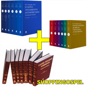 Kit Champlin Novo E Antigo Testamento Interpr + Enciclopedia