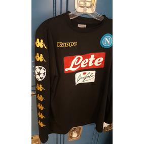Jersey Napoli Negro Manga Larga - Version Champions League 9a97f51c839a3