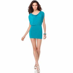 Vestido Bcbg Max Azria Talla Grande Color Esmeralda
